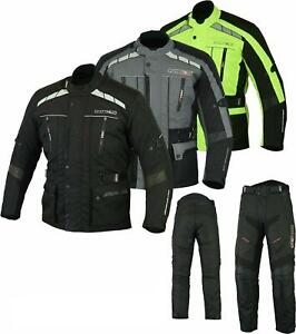 Textile Touring 600D Waterproof Motorcycle Bike Jacket With Textile Trouser