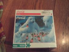 NWT Buffalo Games 1000pc Coca Cola jigsaw puzzle feat. Coke polar bears