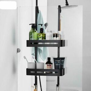 Hanging Bath Shelves Bathroom Organizer Nail-free Shampoo Holder Storage Shelf