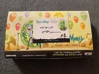 ** Cryptozoic Rick and Morty Series 2 Hobby Box + Alan Tudyk Chris Auto (READ)