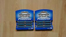 Wilkinson Sword Protector 20 Klingen (2 Pack's je 10 Stück)