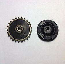 Oil pump drive gear and guided rubber wheel ATV 70cc 90cc 100cc 110cc
