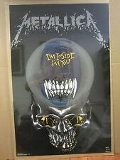 Metallica rock n roll poster 1993 I'm Inside I'm you 1956