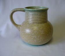 1920's/30's Studio Art Pottery  Jug / Vase - Mottled Decoration