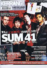 SUM 41 / FALL OUT / GREEN DAYKerrangno.1010June192004