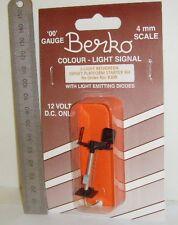 Berko B30R - 2-Aspect, Right Offset - Red/Green - Platform Starter, New.(00)