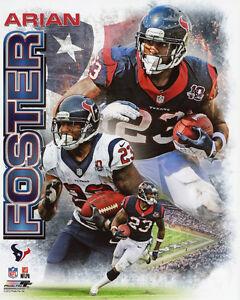 Houston Texans ARIAN FOSTER Glossy 8x10 Photo NFL Football Print Poster