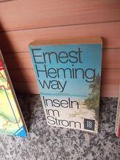 Inseln im Strom, ein Roman von Ernest Hemingway, aus dem rororo Verlag