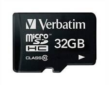 VERBATIM Micro Scheda di memoria SDHC 32GB Tipo: Micro SDHC (44013)