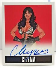 CHYNA 2017 Leaf Originals Wrestling 2014 - RED on-card Autograph Auto #'d 5/10