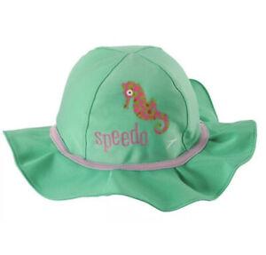 Speedo Girls Bucket Hat UV 50+ Size L/XL 12-24 Months NEW