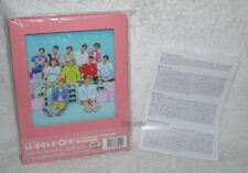 WANNA ONE Mini Album Vol.1 1X1=1 TO BE ONE Taiwan CD Pink Ver.
