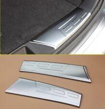 Rear bumper cargo door sill scuff plate Protector trim For Subaru Outback 2015+
