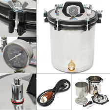 18L Steam Autoclave Sterilizer Dental Pressure Sterilization Dual Heating 2KW