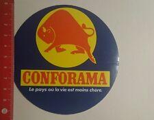 Autocollant/sticker: CONFORAMA Le Pays où la vie est moins chére (17011781)