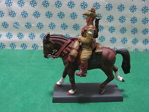 Rare - Mounted 1st World Guerra - Australia 1917 - Metal Soldier Figure Set