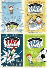 Jo Nesbo DOCTOR PROCTORS FART POWDER Humor Series Collection Set PAPERBACKS 1-4