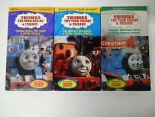 Thomas The Tank Engine & Friends Lot of 3 VHS Tapes - Storyteller George Carlin
