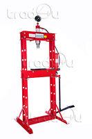 Werkstattpresse 20t Presse hydraulikpresse mit Manometer & Fußpumpe Lagerpresse