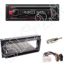 Kenwood KDC-110UR Radio + Chevrolet Corvette Camaro Blende schwarz + ISO Adapter