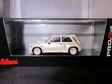 Renault R5 Maxi Turbo Schuco Scale 1:43 white limited edition 500 pcs