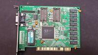 DIAMOND STEALTH 64 S3 Trio64  1MB VGA PCI GAMING VIDEO CARD WORKING #J40