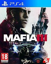 Mafia III (3) PS4 Video Game (Sony PlayStation 4, 2016) PEGI 18, Good Condition