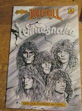 Whitesnake Warrant Comic Book New 2Nd Pressing Revolutionary Comics 1990 #10