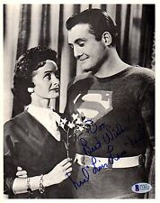 "BECKETT-BAS SUPERMAN NOEL ""LOIS LANE"" NEILL AUTOGRAPHED-SIGNED 8X10 PHOTO C14013"