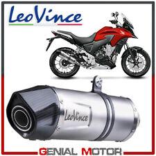 Leovince Terminale Di Scarico Lv One Evo Acciaio Honda Cb 500 X 2013 > 2016