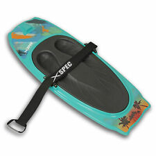 Xspec Kneeboard with Hook for Knee Surfing Boating Waterboarding, Aqua