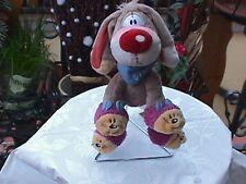 BIBOMBL mit Katzenhausschuhen der Hund von DIDDL ca. 16 cm RARITÄT DIDDL