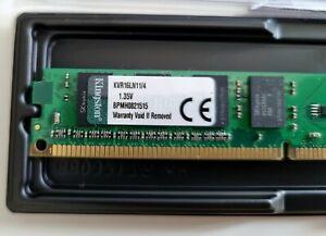 Kingston KVR16LN11/4 4GB DDR3 1600MHz CL11 PC3-12800 DDR3 Memory SDRAM Desktop