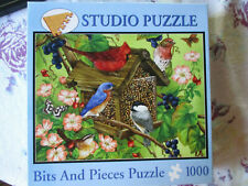 "Bits And Pieces ""Vineyard Visitors"" 1000 Piece Jigsaw Puzzle"