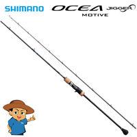 "Shimano OCEA JIGGER INFINITY MOTIVE B610-6 6'10"" baitcasting jigging rod"