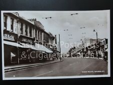 London: High Road, Wembley RP Postcard - Pub by Richard Clarke of North Wembley