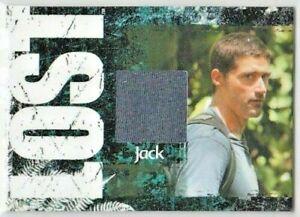 LOST ARCHIVES MATTHEW FOX as JACK SHEPHARD  PIECEWORKS  CARD  355/375
