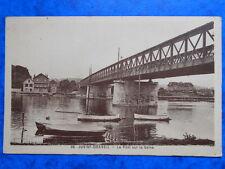 JUVISY-DRAVEIL  :  Le Pont sur la Seine.