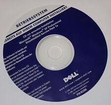 Microsoft Windows XP Professional SP1a CD Vollversion DELL Deutsch ohne Lizenz