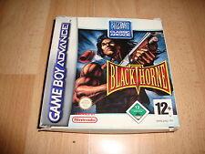 BLACKTHORNE BLACK THORNE PARA LA NINTENDO GAME BOY ADVANCE GBA USADO COMPLETO