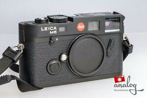 """Leica M6 TTL """"1984-2002"""" - 10542 - """"Die letzten 999 M6"""" black 0.58"""