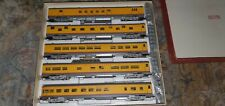 Westside Model Company Union Pacific HO Brass 5 Passenger Car Set