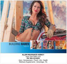 2021 Wall Calendar Building Babes