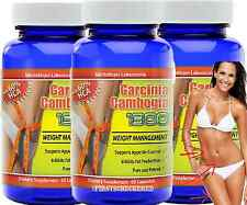 3X Garcinia Cambogia Extract 60% HCA Weight loss Diet Pills Fat Burner Natural