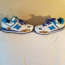 NEW BALANCE SHOES - MENS SIZE 7 - COOKIE MONSTER - THROWBACKS - NO BOX