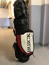 Tiger Woods Buick Signed Bag + PSA Authenticity! Hood + Strap / Rare/ Nike/ Tour