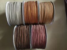 PROMO 15 metres (5x3m) Soutache Cord 3mm Brown Mix Beige Copper Caramel Brown