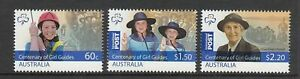 MINT 2010 CENTENARY OF GIRL GUIDES  STAMP SET