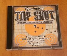 Remington Top Shot Interactive Target Shooting Windows 95/98 Head Games Weapons