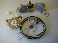 Wiring Harness Kit For Strat CTS Oak Switchcraft .05uf Erie Ceramic Cap 1960's